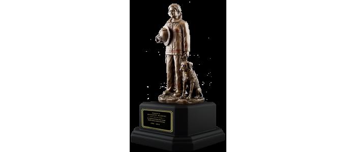 Female Firefighter Statue