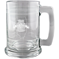 IFCA ENGRAVED 15 OZ. BANDED MUG WITH HANDLE