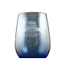 IFCA 8.5oz Blue Wine Glass