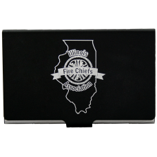 Firefighter gifts business card holder with ifca logo colourmoves