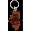 IFCA Leather Keychain