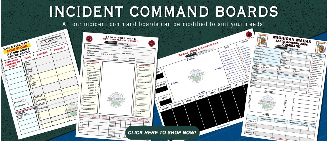 Incident Command Boards