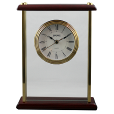 Gold Piano Wood Clock