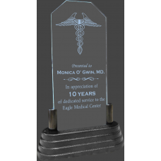 Lighted Acrylic Doctor Award