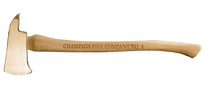 Medium Brass Firefighter Axe