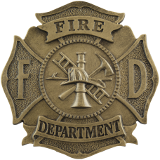 Casting — Fire Department Maltese Cross