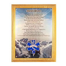 Nurses Prayer Plaque