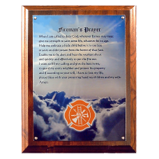 FF Prayer Plaque