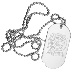 Custom Logo Engraved Dog Tag