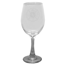 Custom Logo Wine Glass
