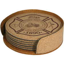 Custom Logo Round Cork Coasters