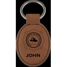 IAFPD Leatherette Keychain