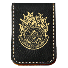 IL MABAS Leatherette Money Clip