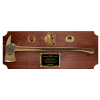 Full Size Cast Bronze Firefighter Axe Plaque