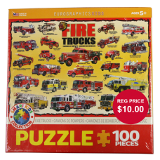 Fire Truck 100 Piece Puzzle
