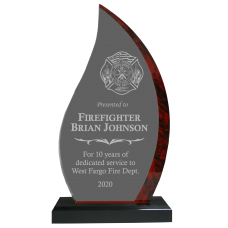 Red Flame Firefighter Award