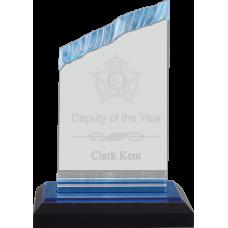 Chisel Top Acrylic Police Award