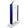 Crystal Glass Pyramid EMS Award