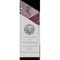 Glacier Acrylic Firefighter Award
