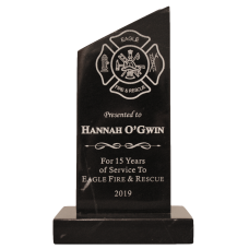 Black Marble Viewpoint Firefighter Award