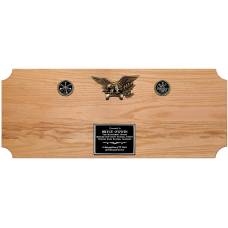 Plaque for Full Size Axe