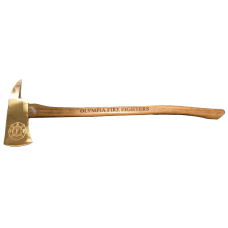 Full Size Polished Brass Firefighter Axe
