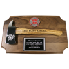Small Firefighter Axe Plaque