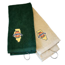 IFCA Embroidered Golf Towel