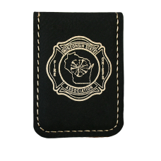 WSFCA Leatherette Magnetic Money Clip