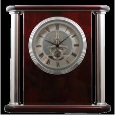 Wood and Metal Clock