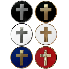 Express Ship Chaplain Collar Ornament Pairs