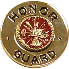 Engraved Honor Guard Collar Ornament