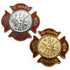 Express Ship Firefighter Maltese Service Pins