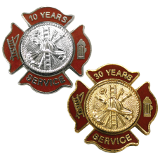 Express Ship Firefighter Service Pins