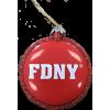 FDNY Ornament
