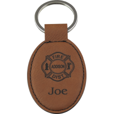 Custom Leatherette Keychain