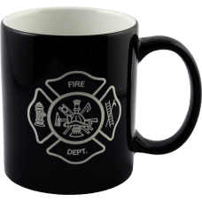 Firefighter Ceramic Colored Mug