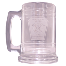 Custom 15 oz. Banded Mug with Handle