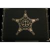 Police Leatherette Business Card Holder