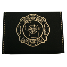 WSFCA Leatherette Business Card Holder
