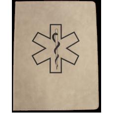 EMS Leatherette Padfolio