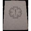 EMS Zippered Leatherette Padfolio