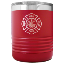 Firefighter 10oz Polar Camel™ Vacuum-Insulated Tumbler