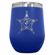 Police Family Gift Polar Camel™ Stemless Wine Cooler