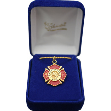 Firefighter's Wife Gold Necklace