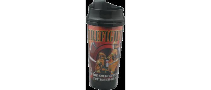 Firefighter Graphic Mug