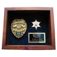 Police Shadow Box