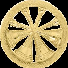 4 Bugle Circle Cutout Texture