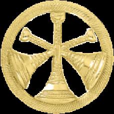 3 Bugle Circle Cutout Texture