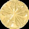 5 Bugle Circle Hat Badge